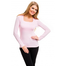 фото Кофта Mondigo 7014. Цвет: бледно-розовый. Размер одежды: 42