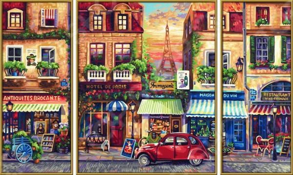Набор для рисования по номерам Schipper «Париж»