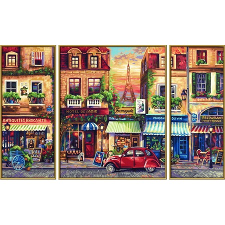 Купить Набор для рисования по номерам Schipper «Париж»