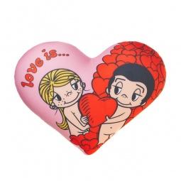фото Подушка декоративная Love is... «Give a heart»
