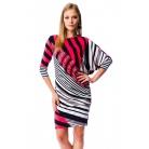 Фото Платье Mondigo 6148. Цвет: коралловый. Размер одежды: 46