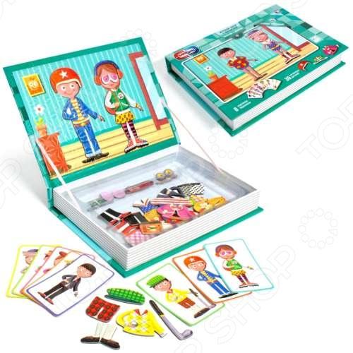 Набор игровой на магнитах 1 Toy «Мальчик и Девочка»