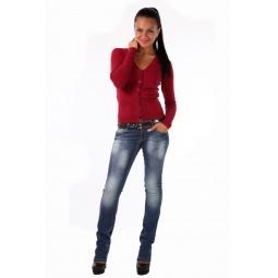 фото Жакет Mondigo 9431. Цвет: бордовый. Размер одежды: 44