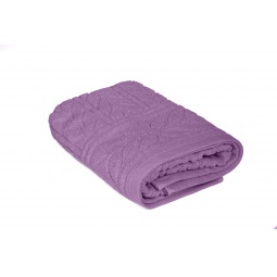 фото Полотенце Tete-a-Tete махровое Т-МП-7161. Размер: 50х90 см. Цвет: фиолетовый