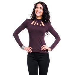 фото Водолазка Mondigo 417. Цвет: коричневый. Размер одежды: 42