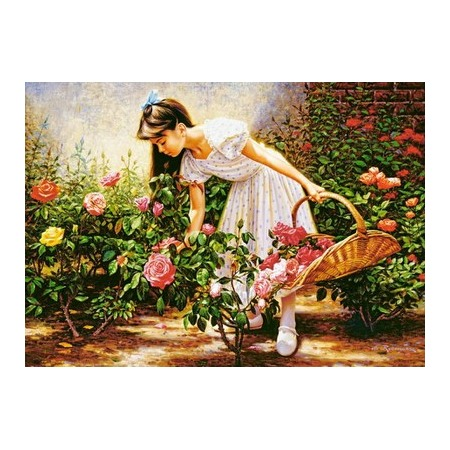 Купить Пазл 1000 элементов Castorland «В саду роз»