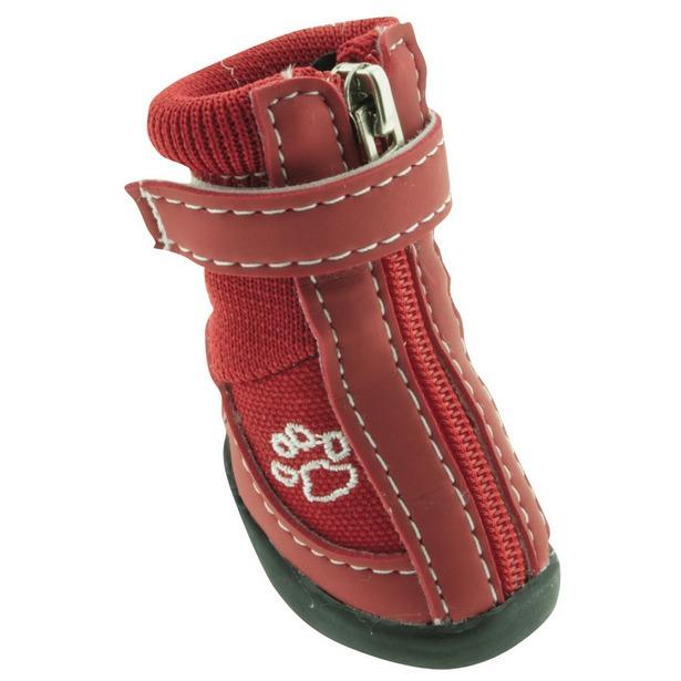 фото Обувь для собак DEZZIE «Рэд». Размер: 1 (5,75х3,55 см)