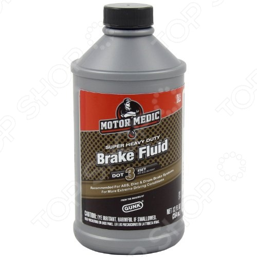 Тормозная жидкость GUNK M4312 Dot-3Другие технические автомобильные жидкости<br>Тормозная жидкость GUNK M4312 Dot-3 создана специально для транспортных средств с дисковыми или барабанными тормозами. При этом она настолько универсальна, что может применяться в транспортных средствах различных производителей. Тормозная жидкость является необходимым атрибутом в арсенале любого автовладельца.<br>