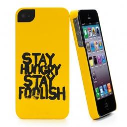 фото Чехол и пленка на экран Muvit S.H.S.F для iPhone 5. Цвет: желтый