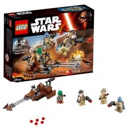 фото Конструктор игровой LEGO «Боевой набор Повстанцев»