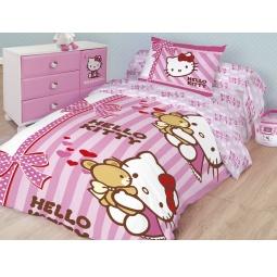 Купить Детский комплект постельного белья Hello Kitty «Лучшие друзья»