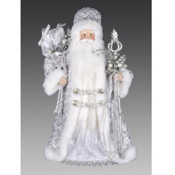фото Игрушка новогодняя Holiday Classics «Дед Мороз с посохом и подарками»