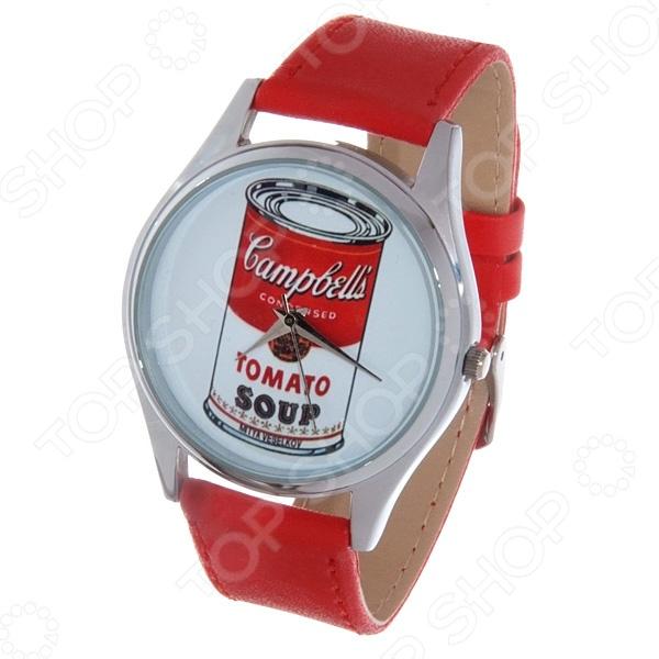 Часы наручные Mitya Veselkov Tomato soup Color tomato soup oversized sweatshirt