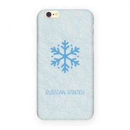 фото Чехол для iPhone 6 Mitya Veselkov «Русская зима - Снежинка»