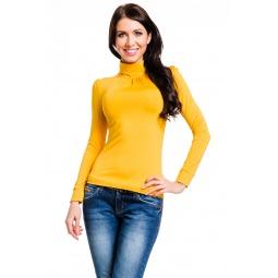 фото Водолазка Mondigo 146. Цвет: ярко-горчичный. Размер одежды: 42
