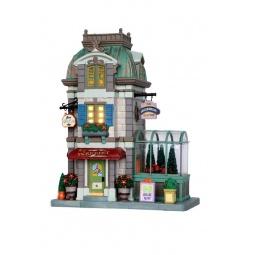 Купить Домик керамический Lemax «Цветочный магазин»
