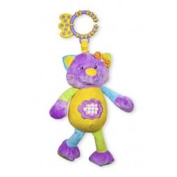 фото Мягкая игрушка развивающая Жирафики «Кошка мяукающая»