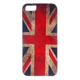 фото Чехол для iPhone 5 Mitya Veselkov «Потертый британский флаг»