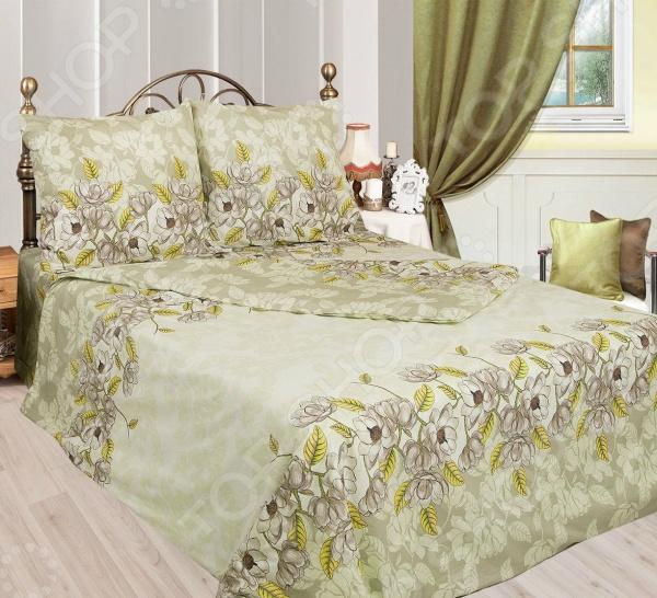 Комплект постельного белья Сова и Жаворонок «Авокадо» комплект постельного белья сова и жаворонок пачули
