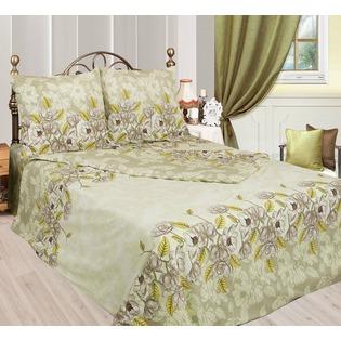 Купить Комплект постельного белья Сова и Жаворонок «Авокадо». 2-спальный