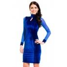 Фото Платье Mondigo 7019. Цвет: синий. Размер одежды: 44