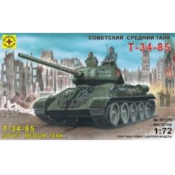 фото Сборная модель танка Моделист «Т-34-85» средний