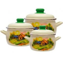 Купить Набор посуды Metrot Домик в деревне