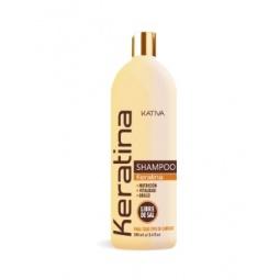 Купить Шампунь укрепляющий с кератином для всех типов волос Kativa