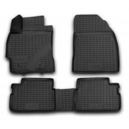 Комплект ковриков в салон автомобиля Novline-Autofamily Toyota Corolla 2007-2013 - фото 2