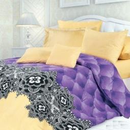 фото Комплект постельного белья Унисон «Бархат». Семейный