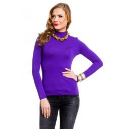 фото Водолазка Mondigo 036. Цвет: фиолетовый. Размер одежды: 42