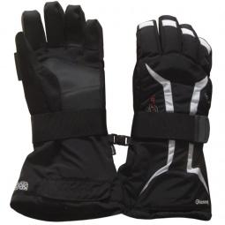 Купить Перчатки горнолыжные GLANCE X-Plosion (2012-13). Цвет: черный, серый