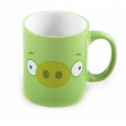 фото Кружка детская Angry Birds «Зеленая свинья»