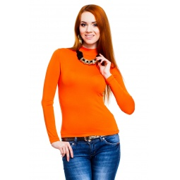 фото Водолазка Mondigo 036. Цвет: оранжевый