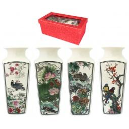 Купить Ваза Elan Gallery «Птицы в цветах» 501915