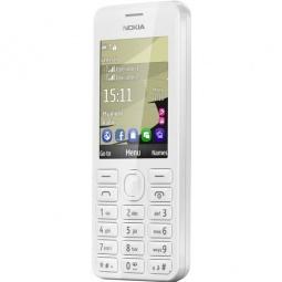 фото Мобильный телефон Nokia 206 Dual Sim. Цвет: белый