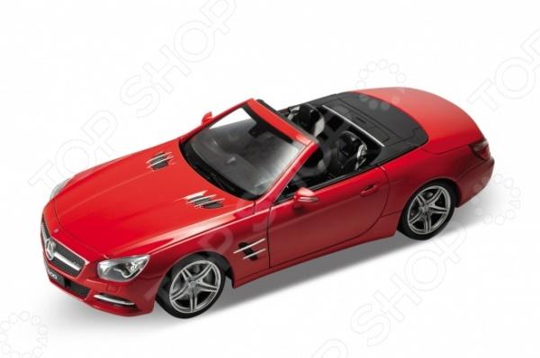 Модель автомобиля 1:24 Welly Mercedes-Benz SL500 welly mercedes benz sl500 1 18