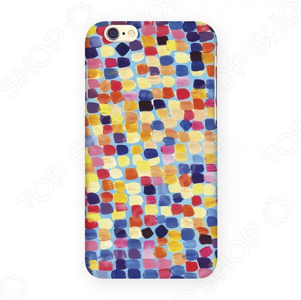 Чехол для iPhone 6 Mitya Veselkov «Палитра» аксессуар чехол elari для elari cardphone и iphone 6 plus blue