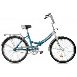 фото Велосипед Larsen Tourist, 2013 года. Цвет: голубой