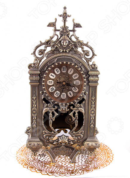 Часы каминные Russia 59406Часы настольные<br>Часы каминные Russia 59406 это оригинальный и стильный аксессуар, который поможет не только следить за временем, но и станет украшением вашего интерьера. Представленную модель можно разместить на окне, журнальном столике или прикроватной тумбочке. Классическая форма и использованная цветовая гамма изделия, придадут любому помещению еще большей гармонии, эмоциональной наполненности и добавят нотку романтичности. Часы оснащены кварцевым механизмом, который обеспечит долгую и бесперебойную работу. Часы каминные Russia 59406 являются прекрасным подарком для ваших любимых, родных и близких. Работают от батареек типа АА в комплект не входят . Правила ухода: регулярно вытирать пыль сухой, мягкой тканью.<br>