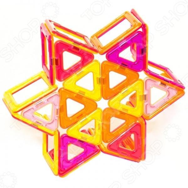 Конструктор магнитный МагМастер «Радуга»Магнитные конструкторы<br>Конструктор магнитный МагМастер Радуга это интересная и занимательная игрушка, которая представляет собой конструктор для детей от 3-х лет. Игрушка развивает детскую фантазию, воображение и пространственное мышление. Она состоит из множества оригинальных деталей, которые могут быть собраны в обозначенную фигурку. Детали изготовлены из высококачественного пластика и металла. Свойства магнитов притягиваться и отталкиваться обязательно понравится детям. Кроме того, им наверняка понравится возможность строить большие конструкции с применением этих деталей.<br>