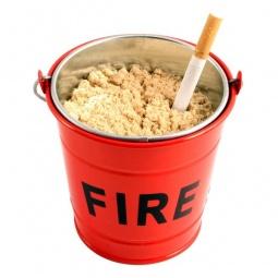 Купить Пепельница Suck UK Fire Bucket