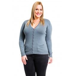 фото Жакет Mondigo XL 9786. Цвет: серый. Размер одежды: 48