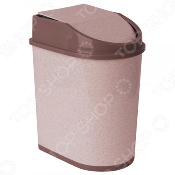 Контейнер для мусора с качающейся крышкой IDEA М 2481