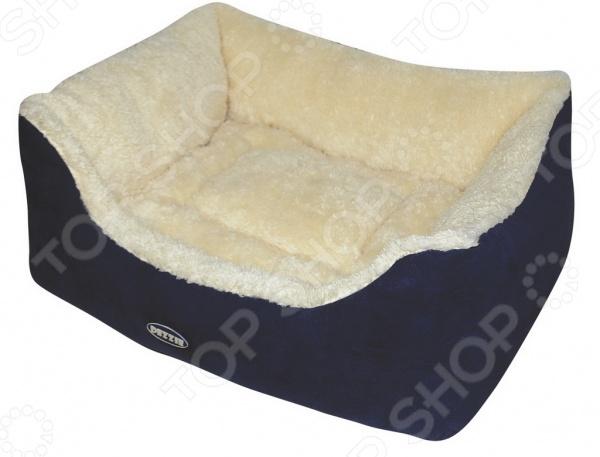 Лежак для собак DEZZIE 5636022 это удобный лежак для собак, который необходим в доме, это обусловлено тем, что любой член семьи должен иметь свое спальное место. Лежак представляет собой вместительный и устойчивый каркас, который сделан из полиэстера и отличается повышенной износостойкостью. Такой материал будет тяжело порвать зубами или расцарапать. Подушка имеет съемный чехол на молнии, легко моется стиральной машине. Подобный мини-диванчик даст четвероногому любимцу почувствоваться себя в комфорте и спокойствии, ведь для них очень важно иметь собственное место в доме. Кроме того, интересный дизайн лежака легко впишется в любой интерьер и порадует не только вашего любимца, но и вас. Выбирайте лежак в зависимости от размеров вашего питомца.