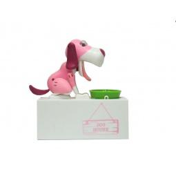 фото Копилка интерактивная Drivemotion «Голодный Пес». Цвет: розовый