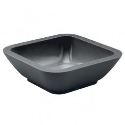 фото Миска Zak!designs «Идеальная форма». Цвет: черный. Размер: 15х15 см