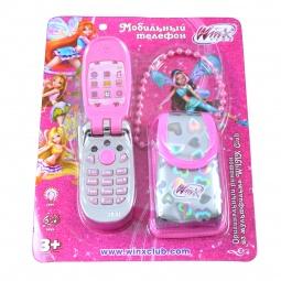 Купить Мобильный телефон-раскладушка 1 TOY Т55635