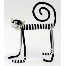 фото Мягкая игрушка Зверюшки «Слим-котик»
