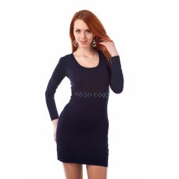 фото Платье Mondigo 9766. Цвет: темно-синий. Размер одежды: 44